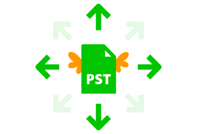 How to sync Outlook PST files